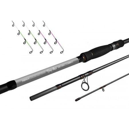 DELPHIN  Long Shot feeder 360cm - 3,5lb + 4 špičky