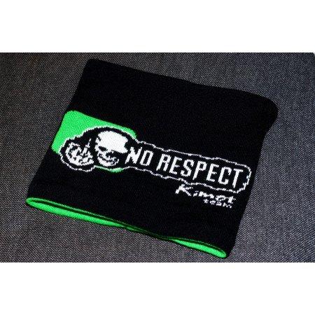 Zateplený nákrčník s logom NO RESPECT KIMOT TEAM