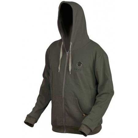 Prologic mikina Bank Bound ZIP Hoodie Green