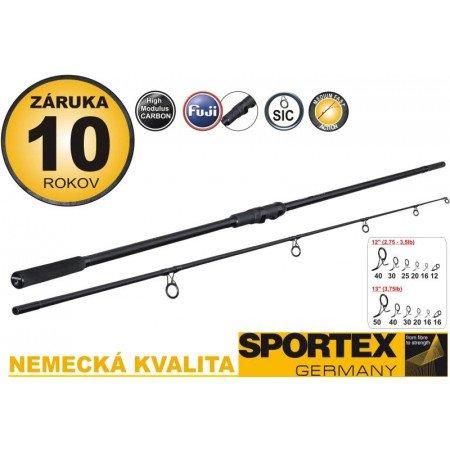 Kaprový prút SPORTEX COMPETITION Carp 365cm - 3lb - dvojdielny