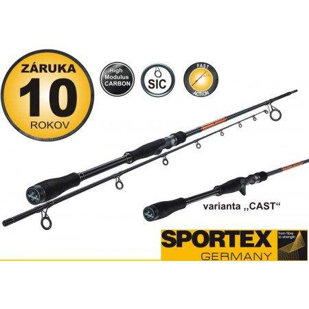 Rybársky prút - SPORTEX - Black Pearl
