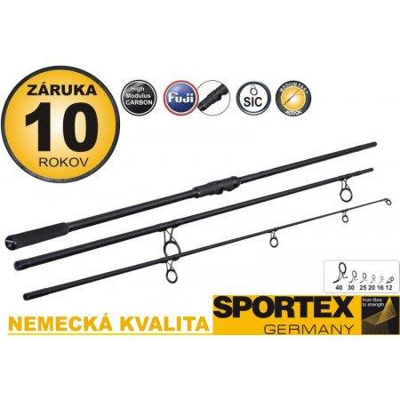 Rybársky prút SPORTEX - COMPETITION Carp - 360cm - 3lb - trojdielny