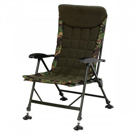 GIANT FISHING kreslo Komfy Camo Chair