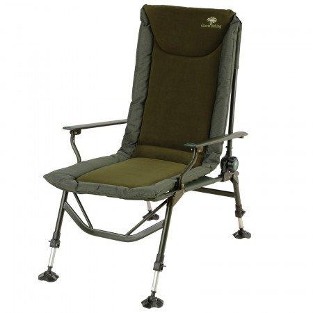 GIANT FISHING kreslo Luxury Fleece MKII Chair