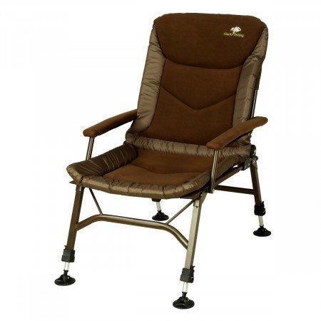 GIANT FISHING kreslo RWX Plus Fleece Chair