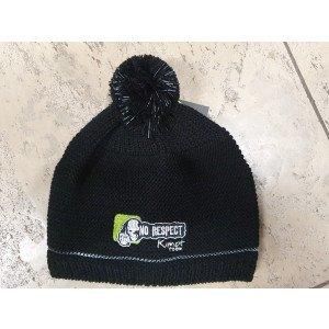Zimná zateplená čapica s logom NO RESPECT KIMOT TEAM