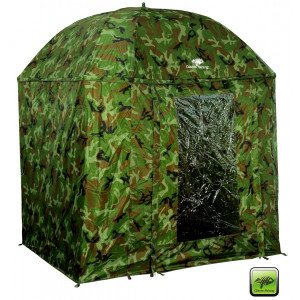 GIANT FISHING dáždnik Full Cover Square Camo Umbrella 250cm