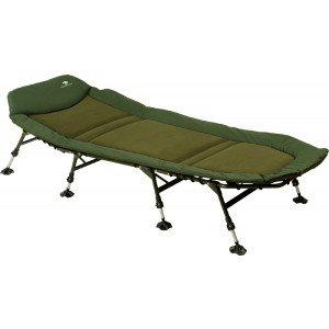 GIANT FISHING Lehátko Bedchair Flat Fleece XL 8Leg
